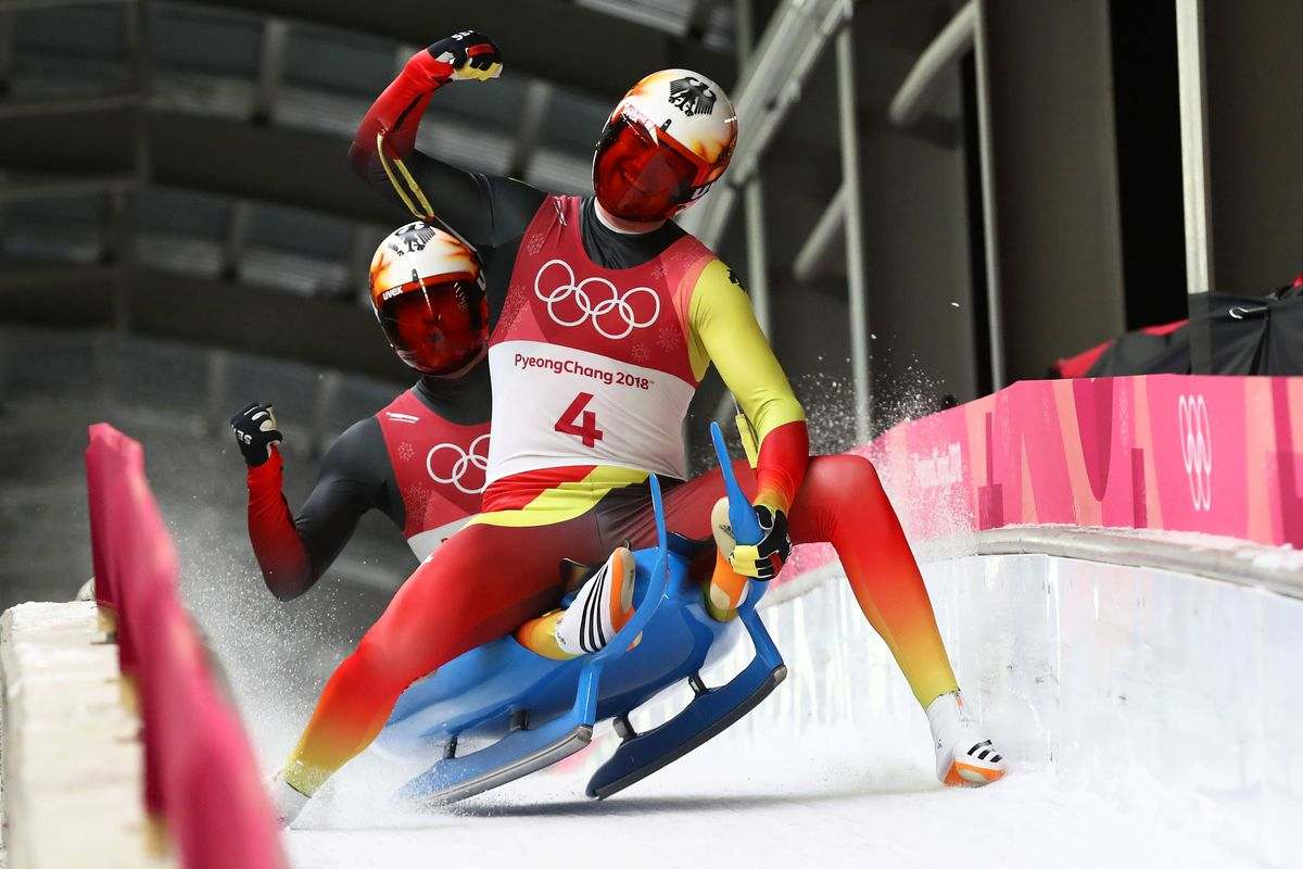 What is the most popular winter sport? Luge