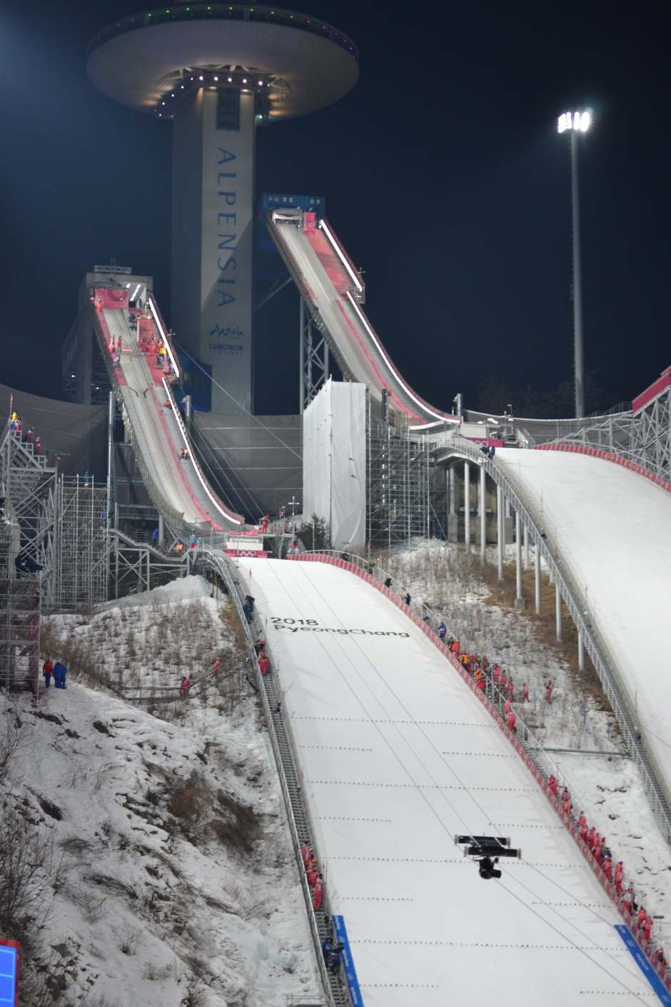 What is the most popular winter sport? Ski Jumping