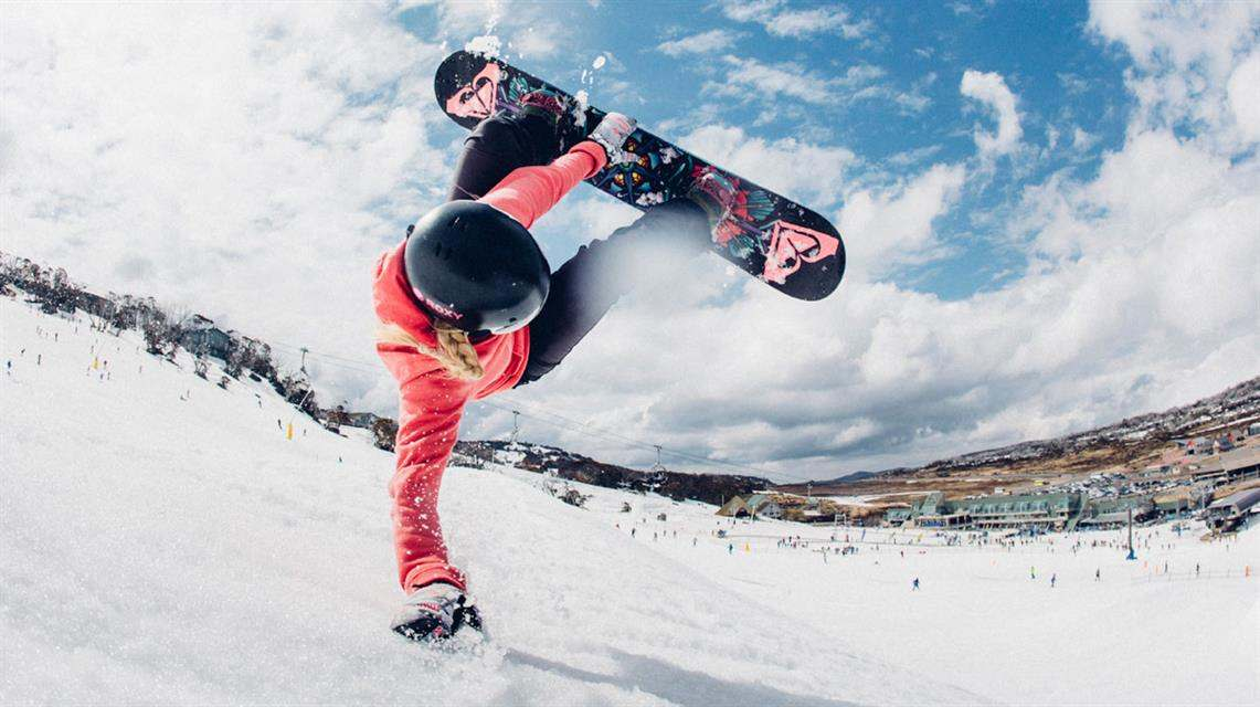 What is the most popular winter sport? Snowboarding
