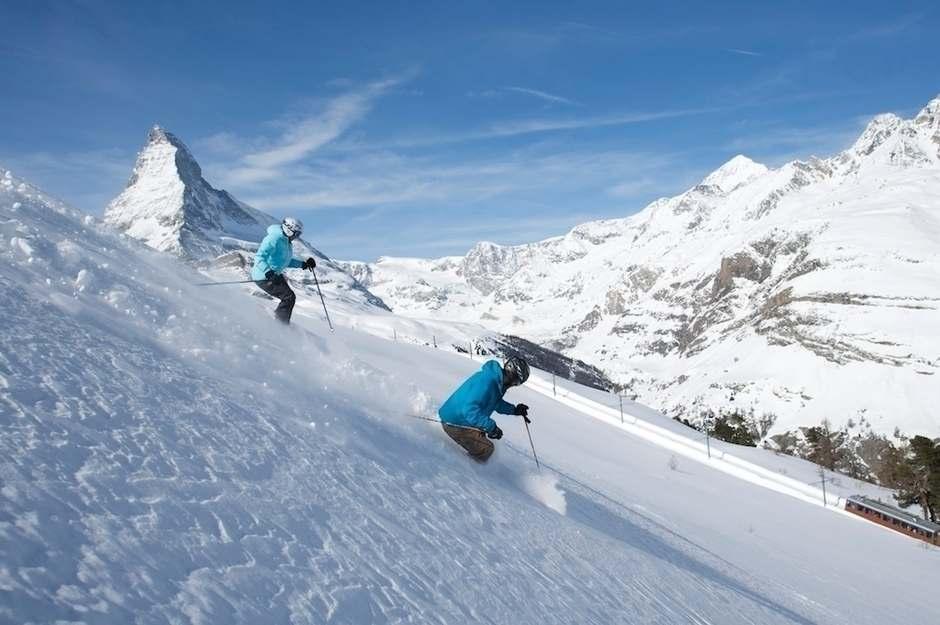 Where is the best place in the world to ski? Zermatt Ski Resort, Switzerland