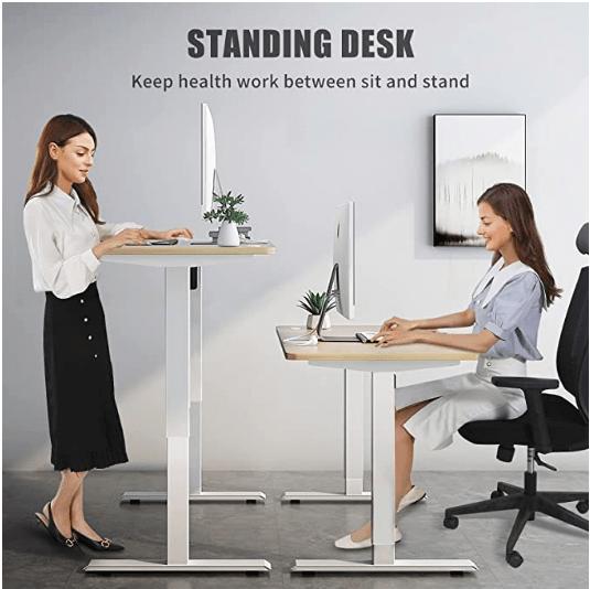 MAIDeSITe Adjustable Height Electric Standing Desk