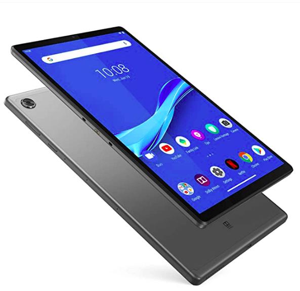 Lenovo Tab M10 Plus, 10.3 FHD Android Tablet, Octa-Core Processor, 64GB Storage, 4GB RAM, Iron Grey, ZA5T0382US